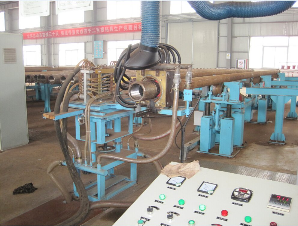 Oil Drill Pipe Heating